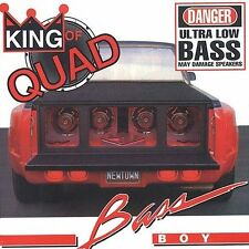 King of Quad Bass Boy CD Techmaster P.E.B.
