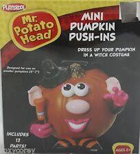 Halloween Mr Potato Head Mini Pumpkin Push In Witch Costume 12 Parts NIB