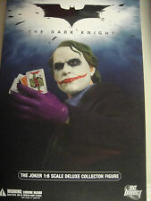 DC DIRECT THE JOKER fROM DARK KNIGHT 1:6 SCALE DELUXE COLLECTOR FIGURE BATMAN