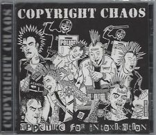 COPYRIGHT CHAOS - APPETITE FOR INTOXICATION - (still sealed cd) - STEP CD 170