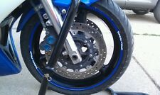 CUSTOM PRINTED RIM STRIPES WHEEL DECALS TAPE STICKERS YAMAHA YZF R1 R6 R3 R6S R