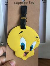 Disney Tweety Bird head silica gel luggage tags BaggageTag travel tags