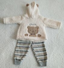 Duck Duck Goose Baby Boy 2pc Sherpa Jacket/Printed Sweatpants Set Size 18 Months