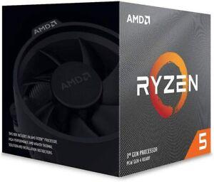 AMD Ryzen 5 3600X 3.8 GHz 6-Core/12 Threads AM4 Processor  Wraith Spire Cooler