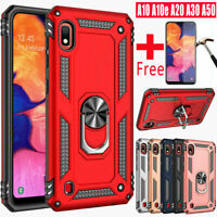 For Samsung Galaxy A10e A10s A20s A30 A50 Defender Case Cover + Tempered Glass