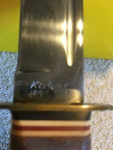 kabar Bowie knife 1207 1960's 1970's