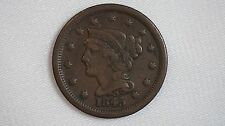 1845 Large Cent Coin - 1C