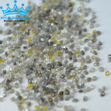 10 crts+ lot 100% Natural Loose Rough Diamonds Fancy Colors 1.00mm-1.25mm Raw