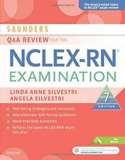 Saunders Q & A Review for the NCLEX-RN Examination, 7e, RN, RN 9780323428729.=