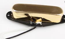 New micro ARTEC TELECASTER neck - ALNICO V  - gold - pour guitare TELE