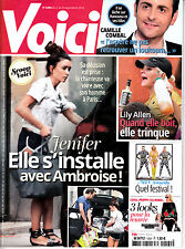 VOICI  N° 1504 . sept 2016 . JENIFER / CAMILLE COMBAL / LILY ALLEN / MTV AWARDS