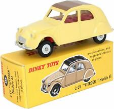 Dinky Toys 558 - CITROEN 2 cv Modèle 1961 crème 1:43, Atlas