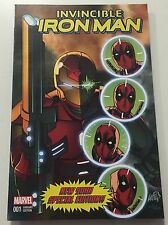 Marvel Invincible Iron Man #1 NYCC Liefeld New Mutants #87 Cover Swipe Exclusive