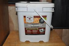 Wise 84{EIGHTY FOUR} Servings Emergency Survival Food Freeze Dried Meals L@@K