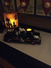 YANKEE CANDLE 2015 HALLOWEEN BONEY BUNCH DARK AVENUE LIMO MULTI Votive Holder