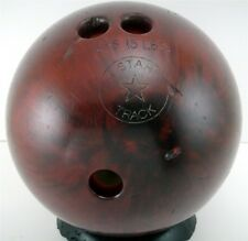 Star Track House Bowling Ball 14 lb Maroon Swirl