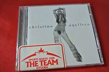 Stripped by Christina Aguilera (2002, BMG) Canada Import Promo Sticker NEW CD