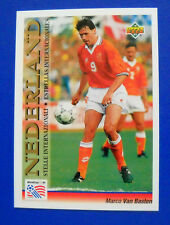 CARD UPPER DECK 1993 WORLD CUP USA 94 - N. 101 - VAN BASTEN - OLANDA