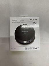 Lenco CD-010 Tragbarer CD-Player und Ladefunktion  schwarz / OVP