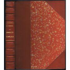 CARUSO Enrico sa Vie sa Mort LETTRES de Dorothy CARUSO Life and Death 1952 E.O.