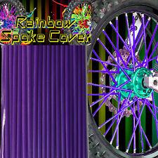 Speichen Spoke cover Spoke style Ribbs Speichen Lila Original Rainbow 72 Stck!