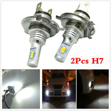 2Pcs H7 3570 LED Headlights Bulb Kit High Low Beam 6000K White Car Plug And Play