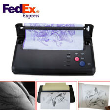 Pro Black Tattoo Transfer Copier Printer Machine Thermal Stencil Paper Maker CE