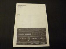 Original Service Manual Schneider CV 342