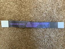 Wiz Khalifa Rae Sremmurd Dazed & Blazed Backstage Access Wristband Unused 2018