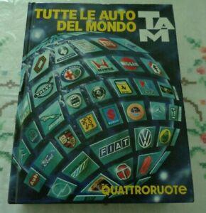 TUTTE LE AUTO DEL MONDO 1985 EDITORIALE DOMUS