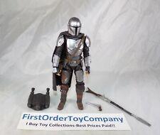 "Star Wars Black Series 6"" Inch Beskar Armor Mandalorian Loose Figure COMPLETE"