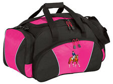 Dressage Embroidered Duffel Bag