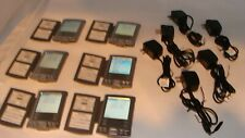 Lot of 6 Palm One Pilot Tungsten E2 Digital Organizer + Ac adapter charger