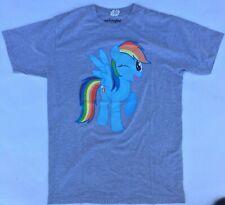 My Little Pony Rainbow Dash Grey T-Shirt M we love fine