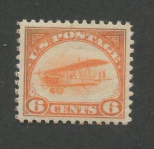 1918 United States Air Mail Postage Stamp #C1 Mint Lightly Hinged VF OG