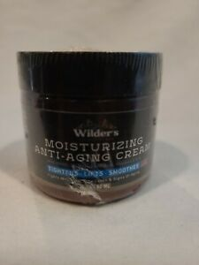 Wilder's Men's Anti Aging Face Cream Moisturizer 2 oz Sealed. Shipped Free!