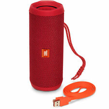 JBL Flip 4-RED Wireless Portable Stereo Bluetooth Speaker with Micro-USB Cable