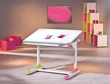 Kindertisch Schreibtisch Lerntisch 2Colorido Weiß Rosa Grün