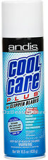 Andis Cool Care Plus Clipper/Trimmer Blades Cleaner/Coolant/Lubricant Spray 439g