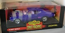 ERTL 1/18 1970 Chevy Chevelle Street Machine PURPLE #7979 SEALED American Muscle