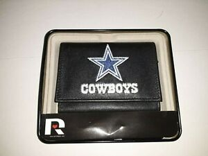 Dallas Cowboys NFL Embroidered Leather Trifold Wallet