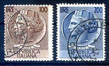 REPUBBLICA 1954 - SIRACUSANA TESTONI SERIE RUOTA  USATA