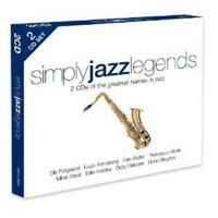 SIMPLY JAZZ LEGENDS  2 CD NEU