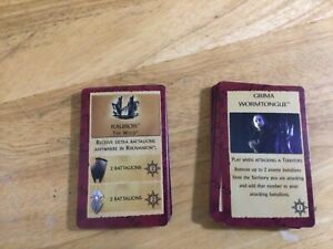 Risk The Lord of the Rings Middle-earth Conquest Replacement Adventure Cards
