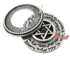 Priestly Blessing Pendant with Star of David - May God Bless You - Birkat Kohani