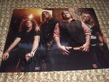 Black Stone Cherry signed autograph 8 x 10 photo  IP