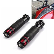 Schwarz Roller Motorrad Lenkergriffe Hand Gas Griffe 22mm Aluminium Universal 2x