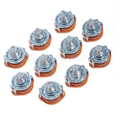 10pcs 4 Way Guitar Amplifier Rotary Switch For Electric Guitar Amplifier Parts
