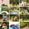 Miniature Dollhouse Bonsai Craft Garden Ornament For Plant Pots Fairy Garden DIY