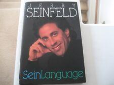 "Jerry Seinfeld ""Sein Language (1993 Bantam Books) Hardcover"